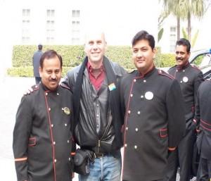 יוסי לוין בביקור בהודו