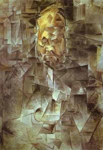 דיוקן וולרד  (1910) של פבלו פיקסו